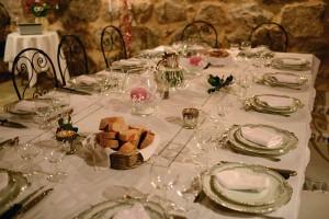 Le bar à tapas pour la table d'hôtes au Mas Nouveau