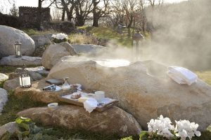 Le spa chauffe du Mas Nouveau