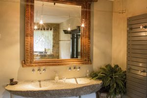 La salle de bain de Glycine
