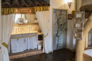Salle de bain Arbres